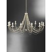 Castleton Home Lily 12 Light Candle Chandelier