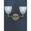 Castleton Home Emilia 2 Light Vanity Light
