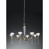 Castleton Home Dia 8 Light Crystal Chandelier