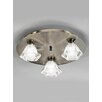 Castleton Home Zarah 3 Light Flush Ceiling Light