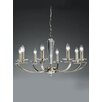 Castleton Home Arta 8 Light Crystal Chandelier