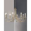 Castleton Home Carol 8 Light Candle Chandelier