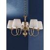 Castleton Home Luft Five Light Chandelier