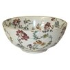 Castleton Home Thousand Flowers Decorative Earthenware Bowl