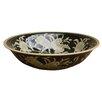 Castleton Home Nouveau Flower Decorative Bowl