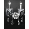 Castleton Home Chifa 2 Light Candle Wall Light