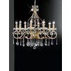 Castleton Home Chifa 8 Light Crystal Chandelier
