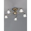 Castleton Home Windsor 5 Light Semi-Flush Ceiling Light