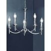 Castleton Home Petra 5 Light Candle Chandelier
