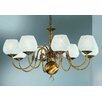 Castleton Home Hayley Eight Light Chandelier in Bronze