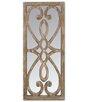 Castleton Home Rectangular Wooden Decor Fence Mirror