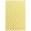 Bakero Handgewebter Teppich Camila in Gelb