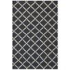 Bakero Eugenie Hand-Woven Dark Grey Area Rug