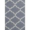 Bakero Handgewebter Teppich Elizabeth in Grau