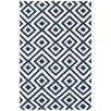 Bakero Luisa Hand-Woven Dark Blue Area Rug