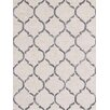 Bakero Chain Hand-Knotted Silver Area Rug
