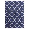Bakero Handgewebter Teppich Elizabeth in Blau