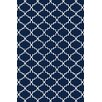 Bakero Eugenie Hand-Woven Dark Blue Area Rug
