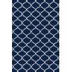 Bakero Eugenie Hand-Woven Dark Blue Area Rug