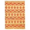 Bakero Sari Hand-Knotted Orange Area Rug
