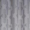 Bella Luna Drona Room Darkening Woven Jacquard Thermal Lined Grommet Curtain Panels (Set of 2)