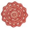 Jessica Simpson Home Medallion Spice Coral Area Rug