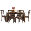 Three Posts Crossback 7 Piece Dining Set