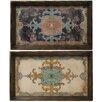 Three Posts Aosta Decorative Tray Set (Set of 4)