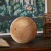 Three Posts Teak Decorative Ball