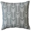 Three Posts Rebersburg Arrow Cotton Throw Pillow