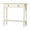 Three Posts Cable Knit Console Table