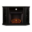 Three Posts Oyster Bay with TV Stand Electric Fireplace