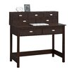 Three Posts Holbrook Writing Desk with 7 Drawers