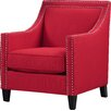 Three Posts Allenport Studded Arm Chair