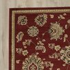 Three Posts Brownville Red Area Rug