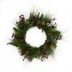 "Three Posts 22"" Indooor Christmas Berry Wreath"