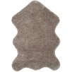 Three Posts Amir Hand-Tufted Silver Area Rug