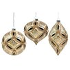 Three Posts 3 Piece Ornate Beaded Ornament Set