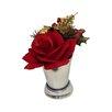Three Posts Christmas Rose Arrangement