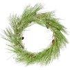 "Three Posts 30"" Ice Pine Wreath"