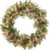 Three Posts Dunhill Fir Wreath with 50 Clear Lights