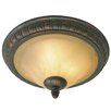 Three Posts Gregory 2 Light Flush Mount