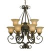 Three Posts Gregory 9 Light Chandelier