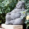 Laughing Buddha Statue - Garden Age Garden Statues and Outdoor Accents