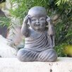 Think About It Shaolin Statue - Garden Age Garden Statues and Outdoor Accents