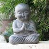 Praying Shaolin Statue - Garden Age Garden Statues and Outdoor Accents