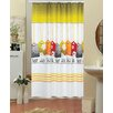 Beytug Textile Labels Funky Shower Curtain
