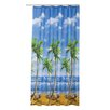 Beytug Textile Palms Shower Curtain