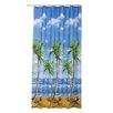 Beytug Textile Duschvorhang Palms