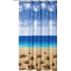 Beytug Textile Beach Shower Curtain